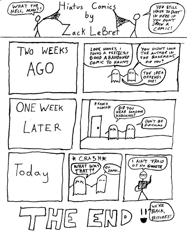 Hiatus Comics
