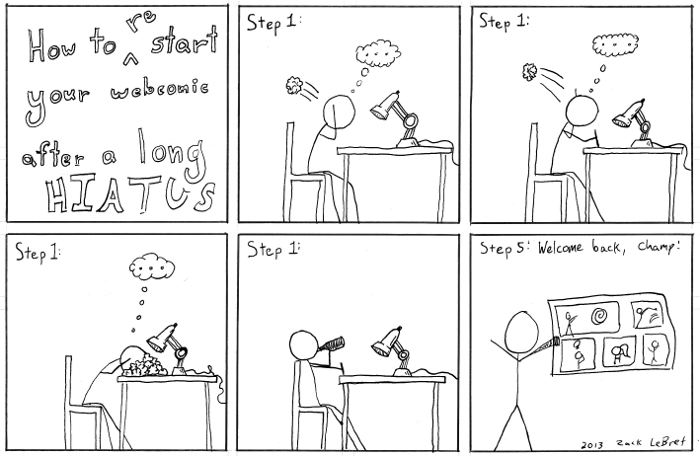 How to Restart Your Webcomic After a Long Hiatus