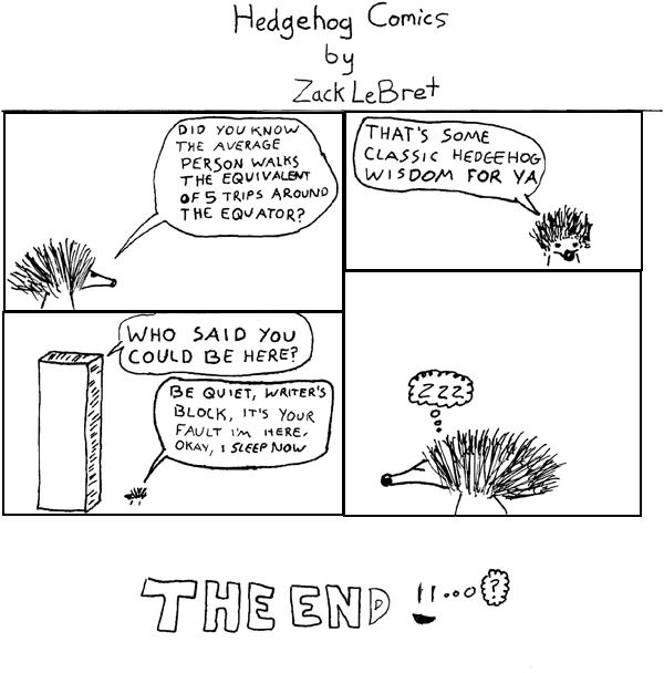 Hedgehog Comics