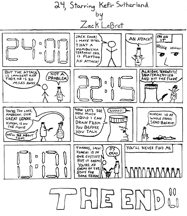 24, Starring Kefir Sutherland